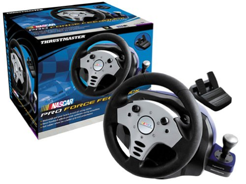 THRUSTMASTER FORCE FEEDBACK RACING WHEEL DRIVER (2019)